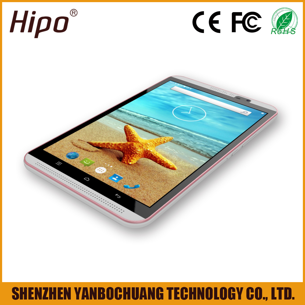 Hipo M8 top class cheap 8 inch dual camera sim android tablet 4g lte