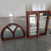 window frame with carved glass Cheap house oak wood windows for sale