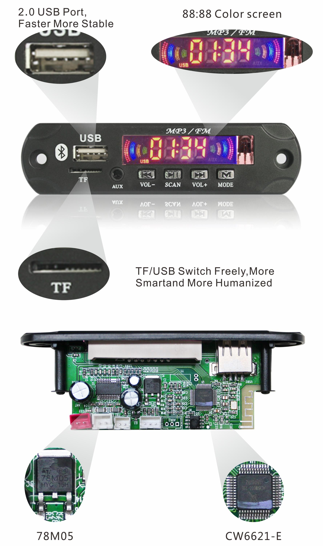Bluetooth Module 12v Audio Amplifier Board Buy Circuit