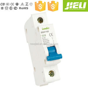 14 years professional manufacturer 2 pole screw circuit breaker(fuse) c45n 2p 10a mcb