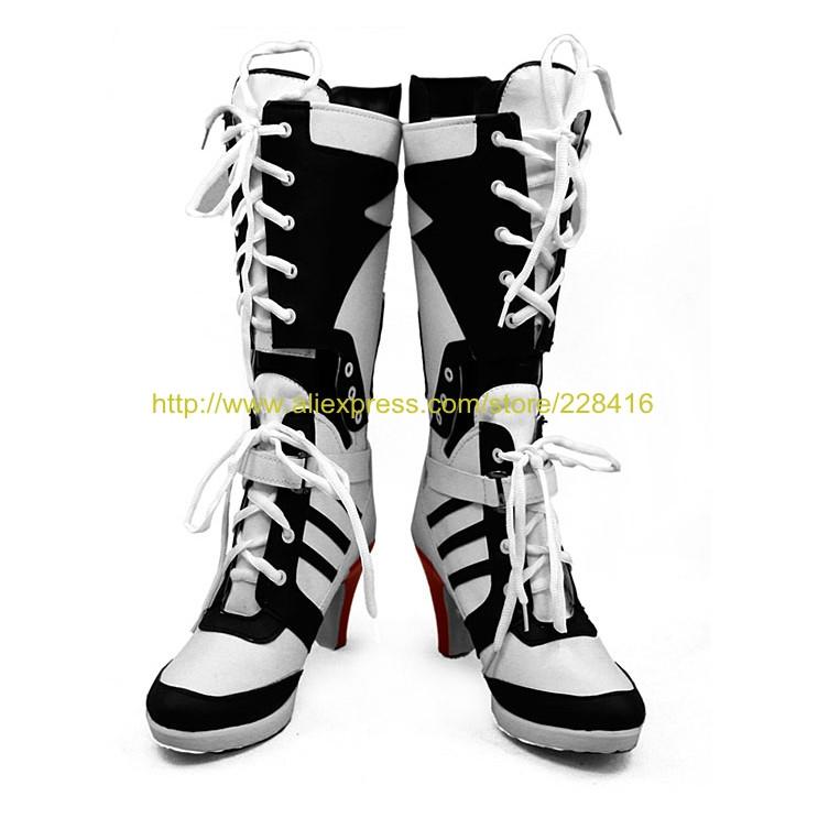 f424eccb9a26ac Compre Atacado Custom Suicídio Filme Esquadrão Harley Quinn Cosplay ...