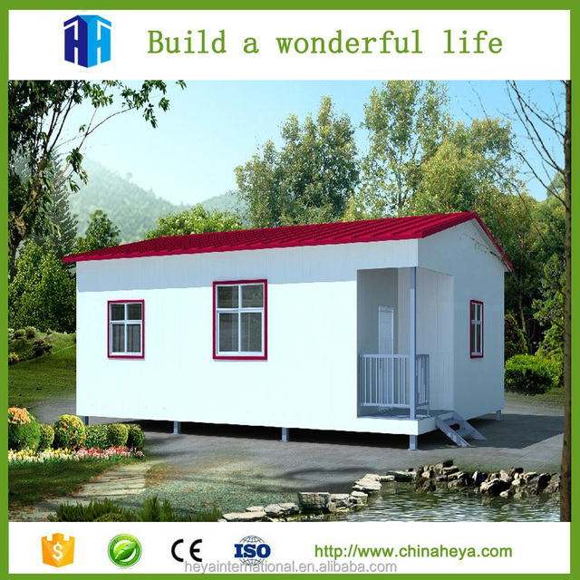Slovenia Precast Portable Housing Unit House With Bathroom