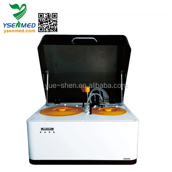 YSTE161 bench top full automatic chemistry analyzer lower price than mindray chemistry analyzer