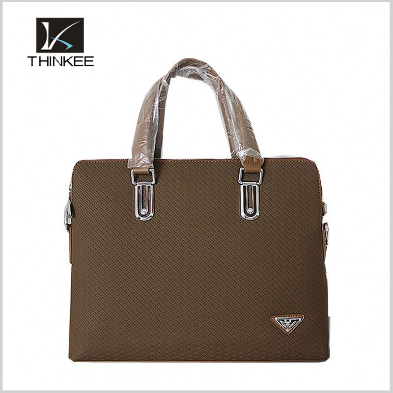 Fashion wholesale long strap men shoulder bag leather messenger bag with flap