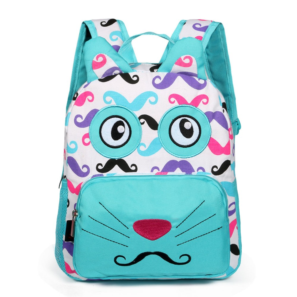 2420c1672 School Bags for Teenagers Girl Cute Casual Nylon School Backpack Schoolbag Children  Bookbag Women Backbag Backpack Blue Knapsack