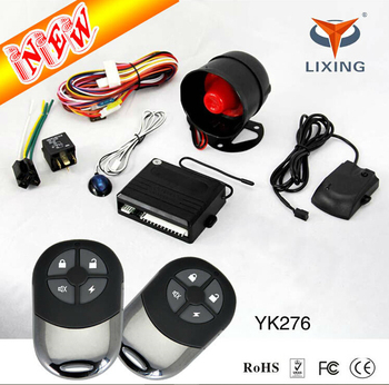 Professional Factory Control Immobilizer Car Alarm System Manual That Calls Cell Phone
