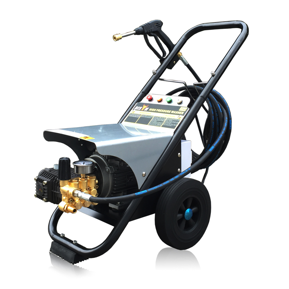 Bison China High Pressure Water Jet Power Washer High Pressure 2500 psi Electric Three Phase 170 Bar Car Pressure Washer
