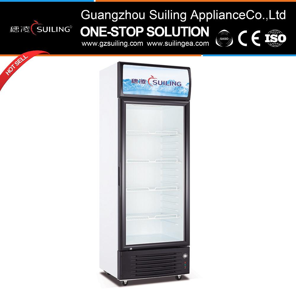 Suiling Glass Door Upright Refrigerators For Sale Lgz 300 Buy