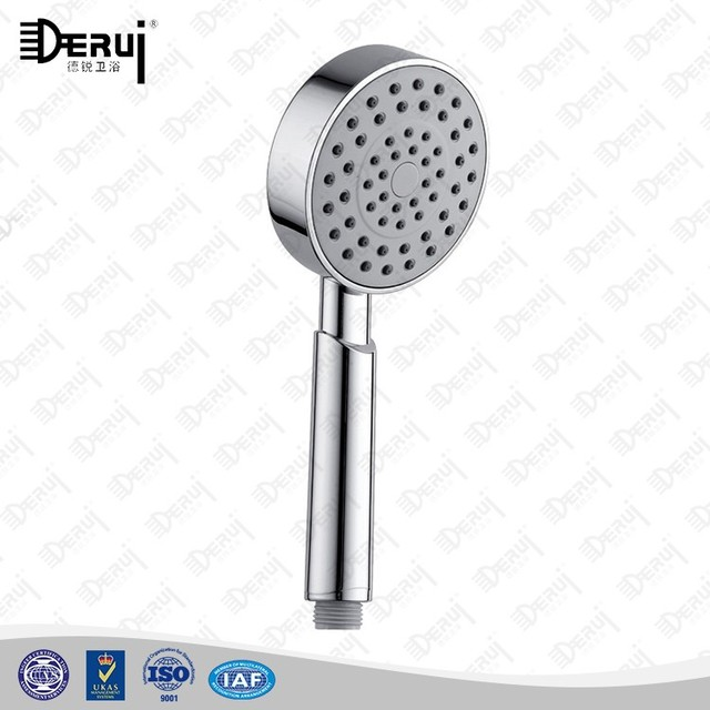 2016 Bathroom Sanitary Ware Accessories Handheld ABS Plastic Chrome Shower Heads