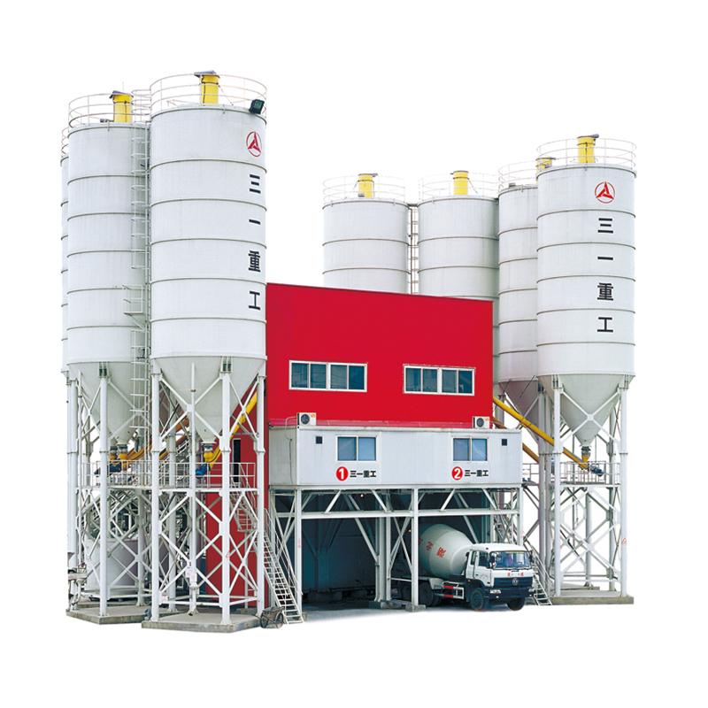 2019 china machines HZS90 cement mengen plant