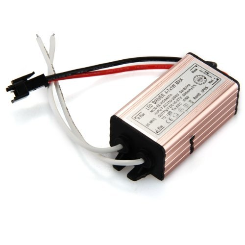 TOOGOO(R) 4-7W LED Light Driver Power Supply Converter Electronic Transformer Waterproof