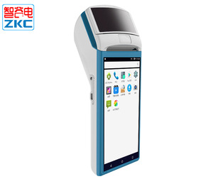 Handheld 5.5 inch Android Mobile POS Terminal with Printer for Restaurant Ordering Online System