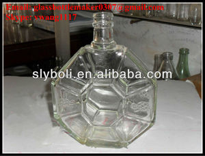 500ml 700ml 750ml XO glass bottle