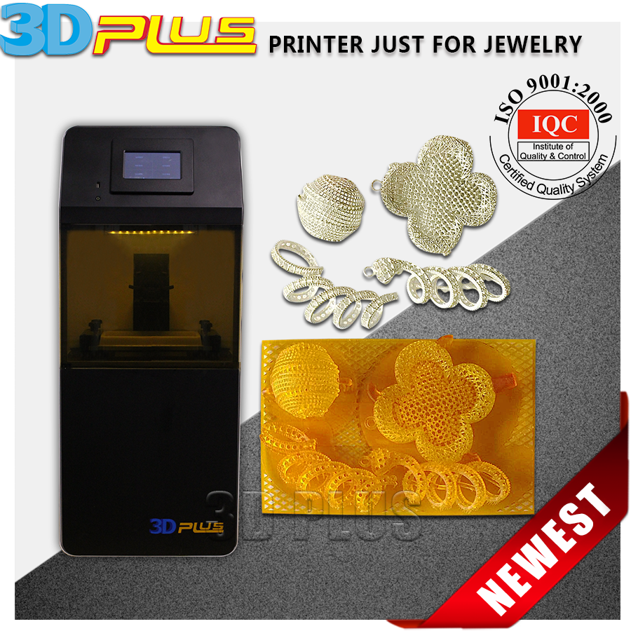 Desktop Jewelry Resin Molding Rapid Prototyping 3D Printer DLP for Individual Jewelry 3D Printing Industry