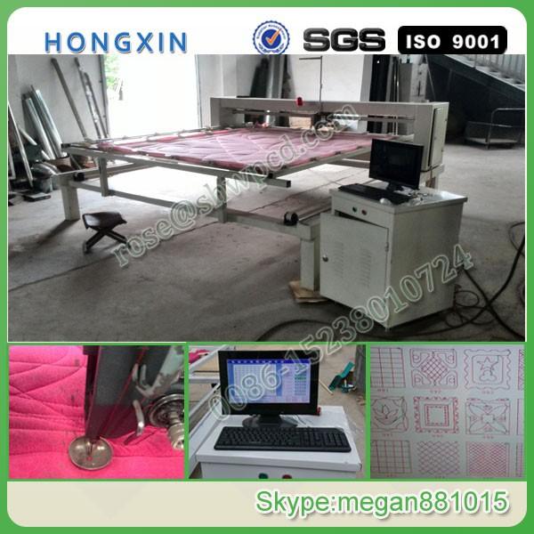 Industrial Quilting Machine/automatic Computerized Single Needle ... : automatic quilting machine - Adamdwight.com