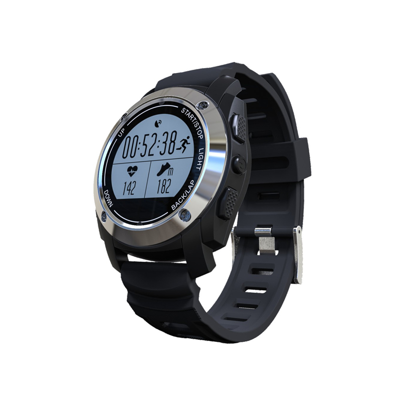 Outdoor GPS professional running sports watch bluetooth 4.0 S928 smart watch with heart rate and environment temperature test