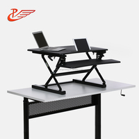 Ergonomic Folding Laptop Standing Desk For Office Or Home To Use