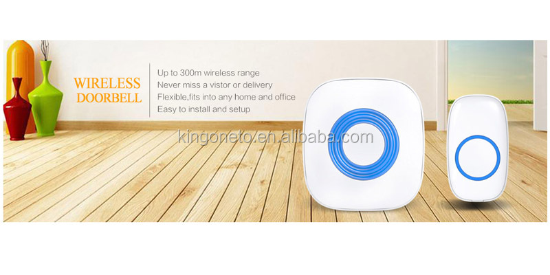 Waterproof Doorbell/Door chime 150M/200M/300M long range of baking dog 52 musics
