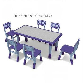 hot sell high quality children combinable rectangle table 90157-60199D(DeskOnly)