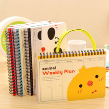 Korean Kreativen Hochwertige Tagebuch Planer Notebook Cartoon Tier Journal