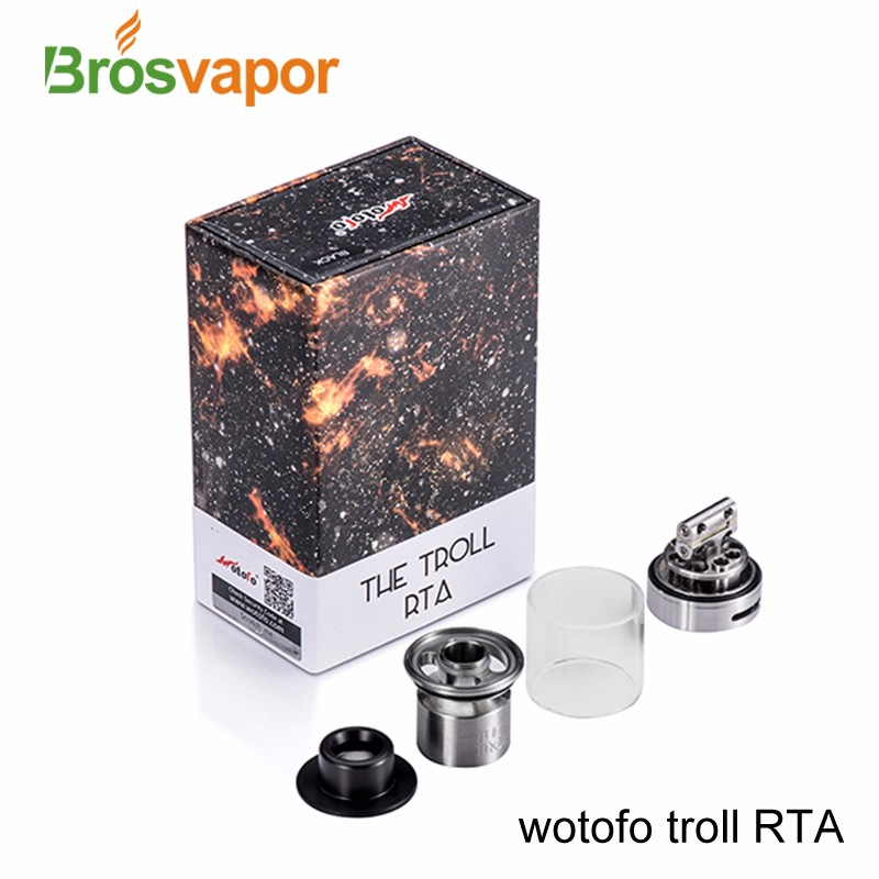 Brosvapor hottest selling Wotofo the Troll RTA in stock