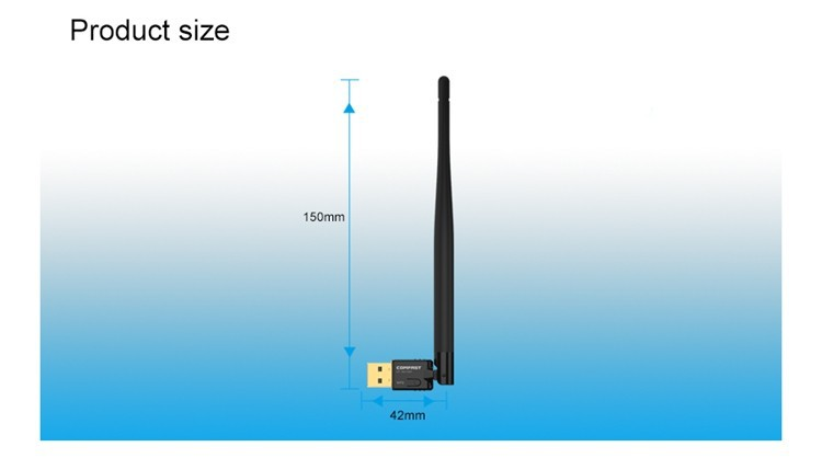 CF-WU735P with 5dBi high gain Antenna 150Mbps Ralink RT5370