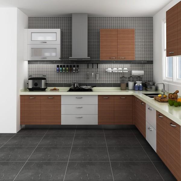 Modular Kenya Project Simple L-shaped Small Kitchen