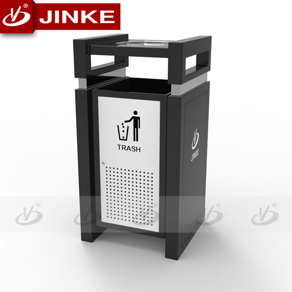 big size style advertising waste bin/clothing donation bins