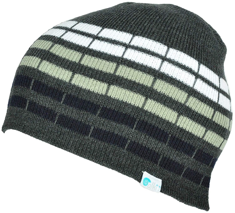 84f004b0981a8 Alki i cube mens womens warm beanie snowboarding winter hats - 6 colors