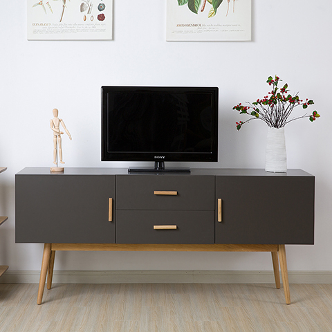 moderne minimalistische dunklem holz couchtisch tv m bel. Black Bedroom Furniture Sets. Home Design Ideas