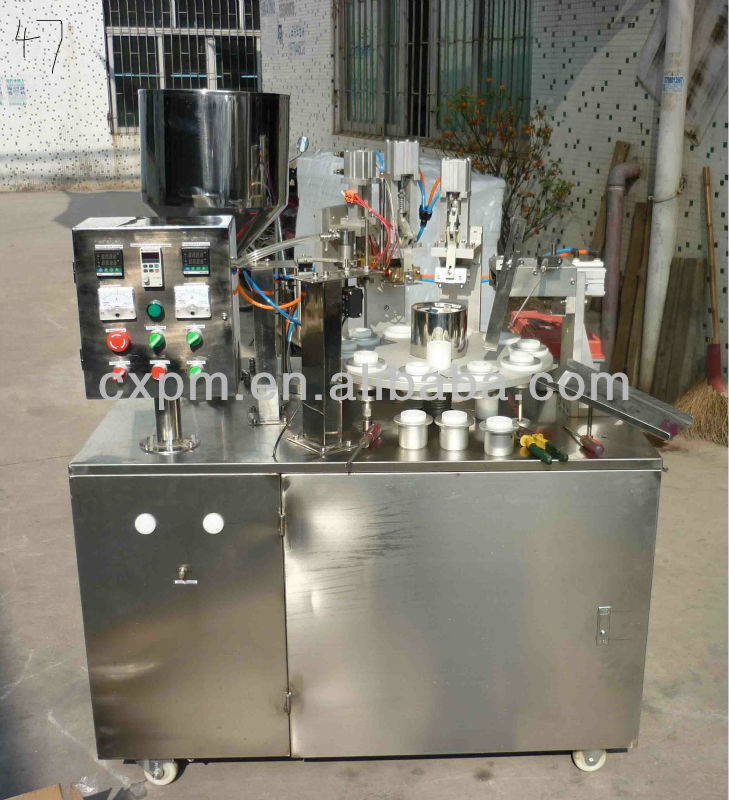 Chocolate Spread Tube Filling Sealing Machine
