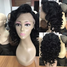 Bob style 14 inch 150% density short lace wig brazilian human hair lace front wigs overnight delivery side part lace front wigs