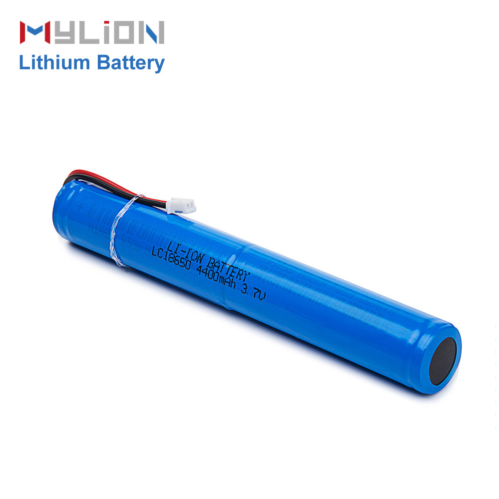 Rechargeable 18650 cell 1s2p 3.7V 4400mah li ion battery with PCM