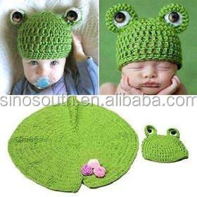 Häkeln Frosch Baby Mütze Und Windel Abdeckung Eingestellt Buy