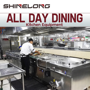2019 Commercial All Day Dining Restaurant Industrial Heavy Duty Kitchen Mechanical/Hotel Buffet Equipment