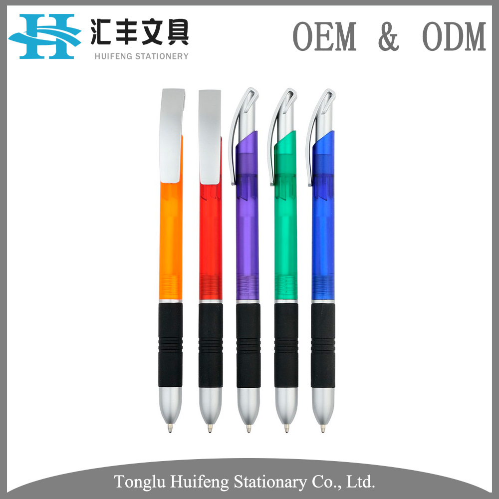 HF5241C Customized design character printed office stationery plastic ballpen