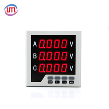 72*72 Volt 500 V Digital AM dan Panel Meter Analog