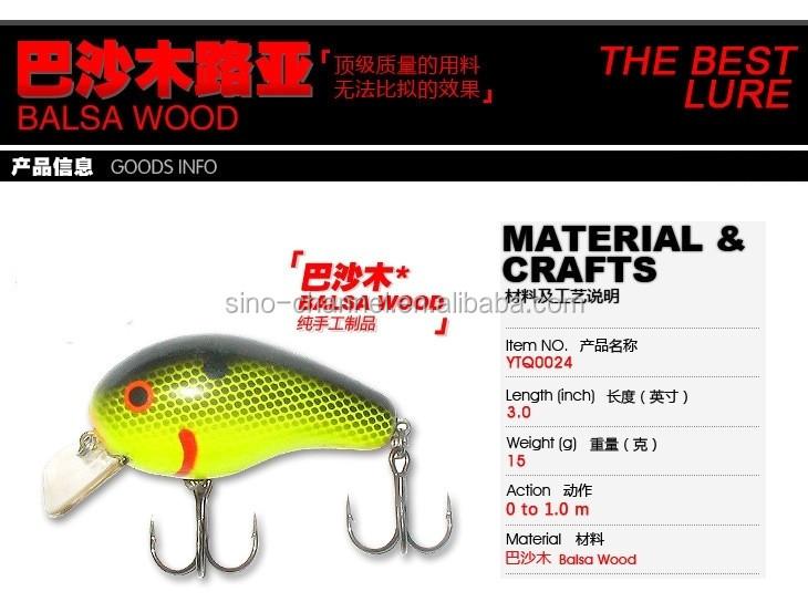 Wholesale High Quality Top Grade Custom Fishing Bait Supplies Balsa Wood  Crankbait Fishing Lures - Buy Fishing Lures Product on Alibaba com