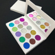 Beauty Glitter Pressed diamond eyeshadow palette private label cosmetic make up eye shadow palette