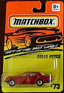 Matchbox 'ROLLS ROYCE ' Fast Lane #73 1994 Very Rare