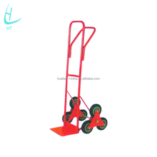 Metal hand truck, six wheel hand trolley/truck for climbing stairs