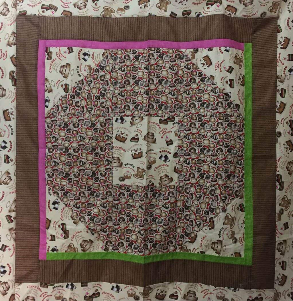 Cupcakes Handmade Square Classic Tablecloth