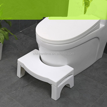 Foldable Bathroom Toilet Stool Adjule Squatting Potty For Kids And Fits All Toilets