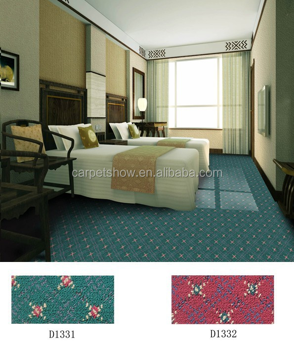 Commercial wool hotel carpet modern design printed roll carpet commercial hotel carpet