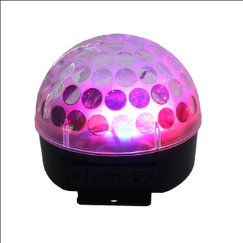 Led Disco Ball 3x3w Music Activated Lights