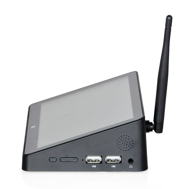 7inch IPS Touch Screen Intel Atom Z3735F Quad Core Mini PC Win dows10 All in One Computer
