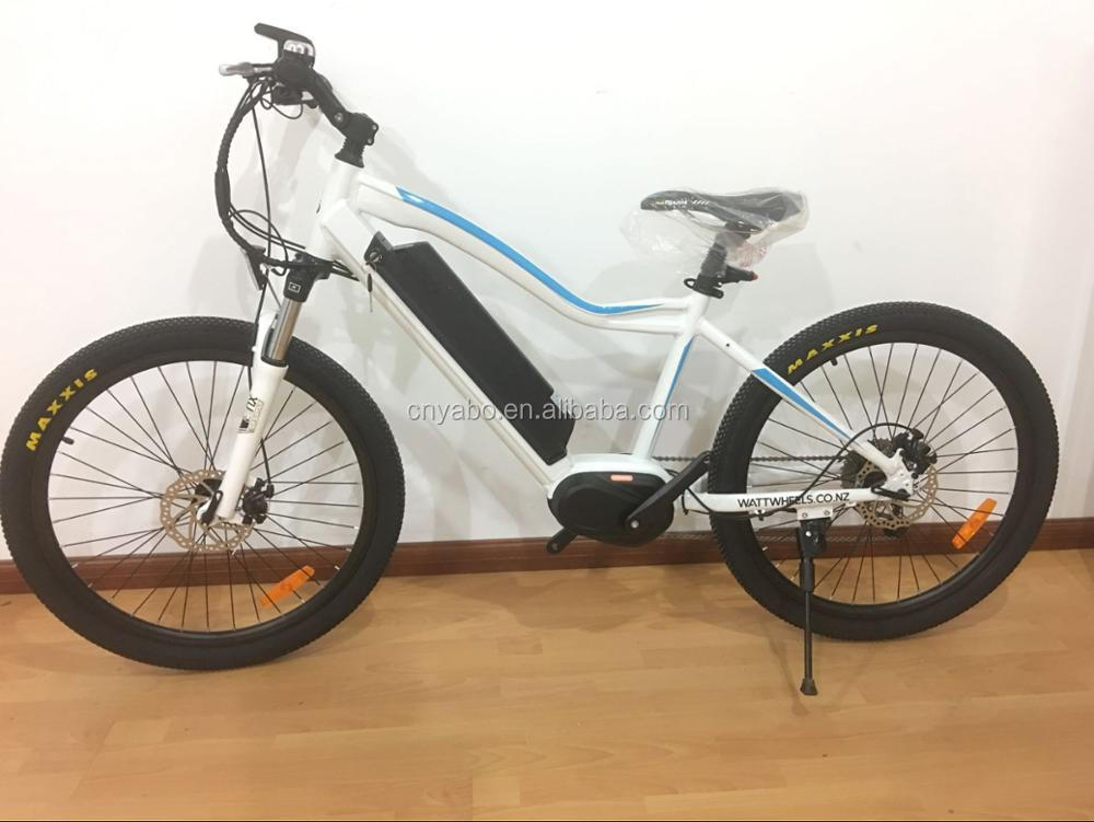 2018 Newly Producing 19 Frame Mid Drive Electric Mountain Bike 36v 250w Bafang Motor 350w Optional Bicycle