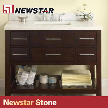 Newstar 36 Top End Bathroom Solid Wood Vanity Unit For Small