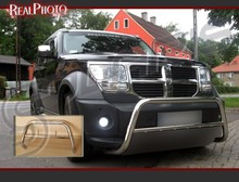 DODGE NITRO 2006-2011 BULL BAR, NUDGE BAR , A-BAR , STAINLESS STEEL - HQ! PRODUCT OF EU!