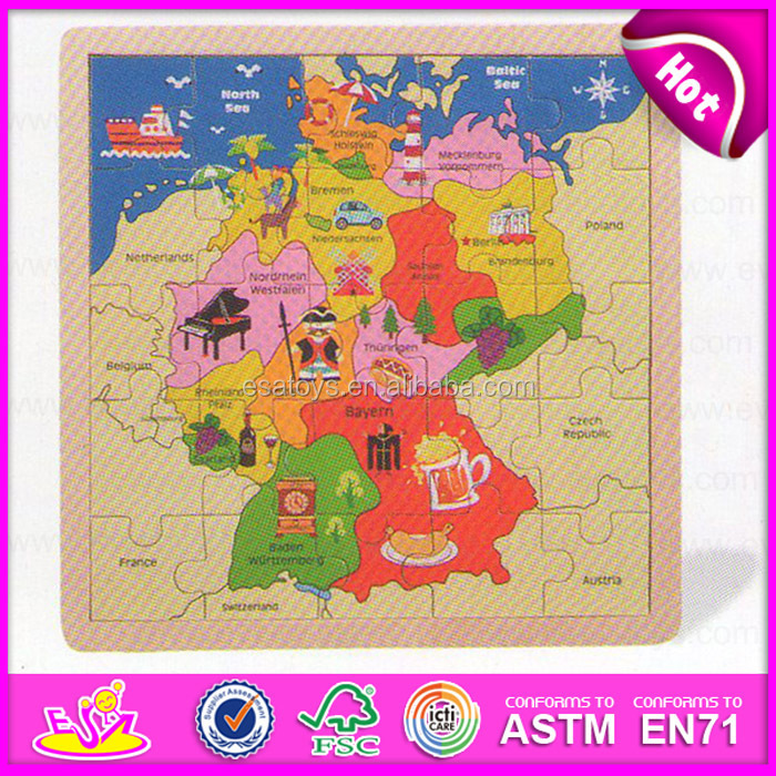 Africa map jigsaw puzzle educational kids world map puzzlechildren diy map jigsaw puzzle gumiabroncs Images